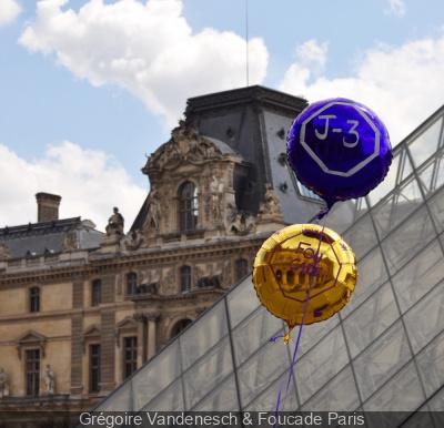 Foucade Paris lance une chasse aux ballons pour gagner des pâtisseries !