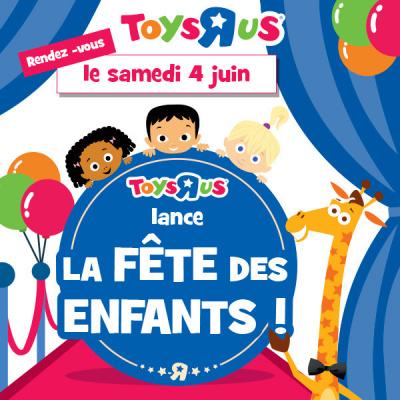 ToyRUs organise la Fête des Enfants