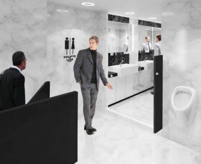 Toilette de Luxe London soulage les envies pressantes !
