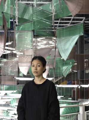Haegue Yang s'expose aux Galeries Lafayette