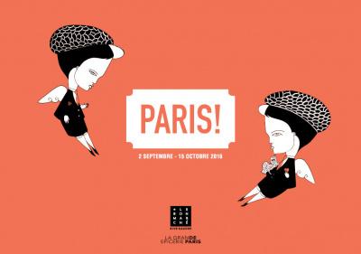 L'exposition PARIS! au Bon Marché Rive Gauche