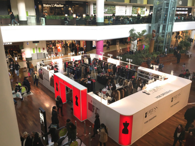 Dress in the city : la vide-dressing de luxe dans les centres commerciaux
