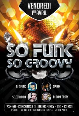 So Funk, So Groovy !
