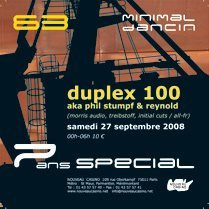Soirée, Paris, Duplex 100, Nouveau Casino