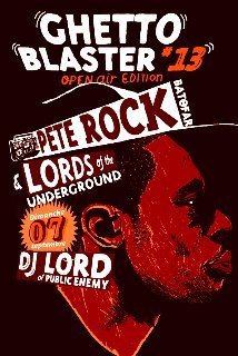 Soirée, Paris, Ghettoblaster, Batofar, Pete Rock, Lord, Lords of the Underground, Public Ennemy, Suspect