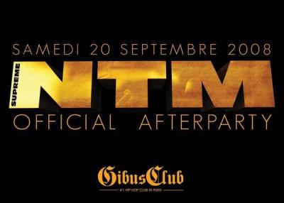 Soirée, Paris, NTM, Aftershow, Gibus