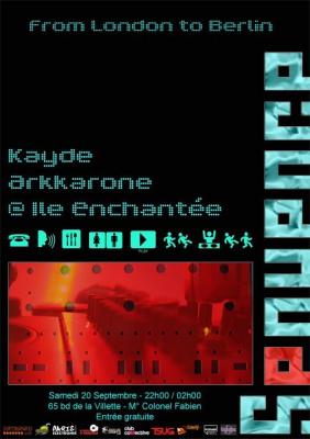Soirée, Paris, Séquence, Ile Enchantée, Kayde, Arkkarone