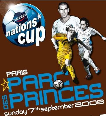Sport, Loisirs, Paris, Danone Nations Cup, Parc des Princes