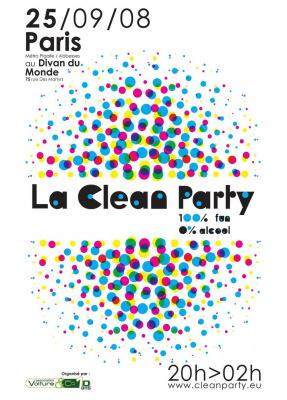 Soirée, Paris, Clean Party, Divan du Monde, Voiture & co.