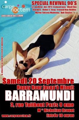 Soirée, Paris, Revival, 90's, Barramundi
