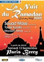 Concerts, Paris, Nuit du Ramadan, Bercy