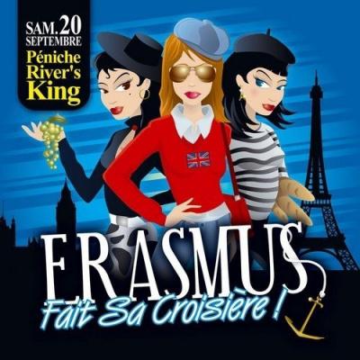 Soirée, Paris, Croisière, Erasmus