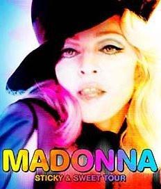 Concert, Madonna Paris, Stade de France, Hard Candy, Sticky & Sweet Tour.