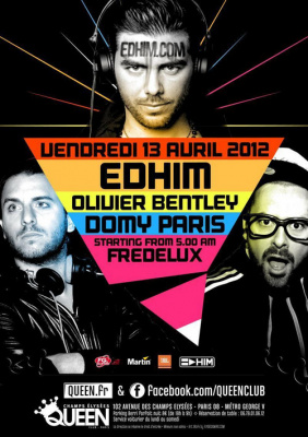 Edhim, Olivier Bentley & Domy Paris