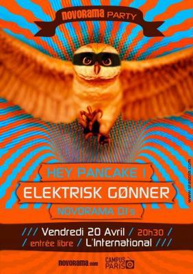 Novorama Party avec Hey Pancake et Elektrisk Gønner