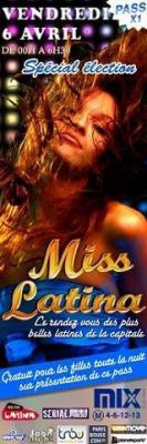 Miss Latina - Spécial Election