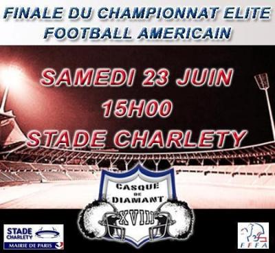 Casque de Diamant 2012 : Finale du Championnat de France de Football Américain