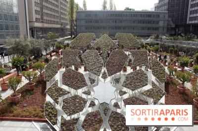 un jardin d 39 orient l 39 institut du monde arabe. Black Bedroom Furniture Sets. Home Design Ideas