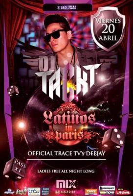 Latinos In Paris with Dj Tackt