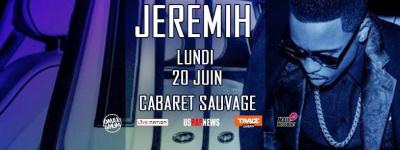 JEREMIH en concert au Cabaret Sauvage le 20 juin