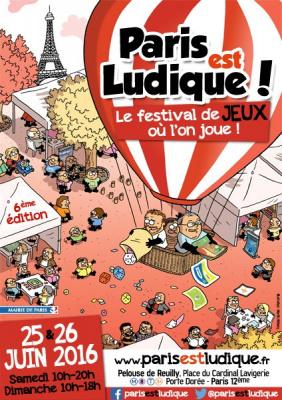 Festival Paris est Ludique! 2016