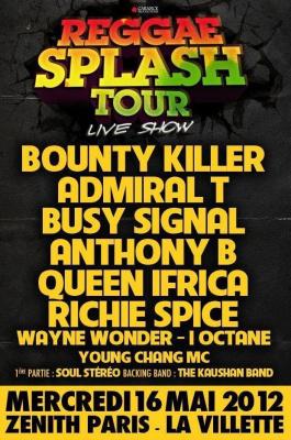reggae plash tour