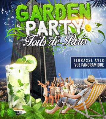 AFTERWORK GARDEN PARTY SUR LES TOITS DE PARIS