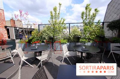 La terrasse du Terrass Hotel Paris
