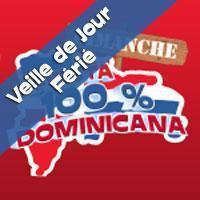 Fiesta 100% Dominicana Spécial Veille de Pâques!