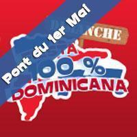 Fiesta 100% Dominicana Spécial Pont du 1er Mai!