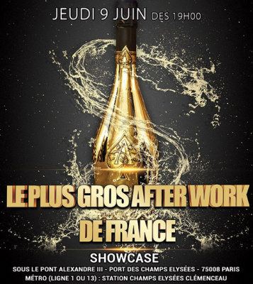 LE PLUS GROS AFTER WORK DE FRANCE (12eme édition) au SHOWCASE