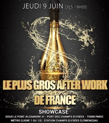 LE PLUS GROS AFTER WORK DE FRANCE (12eme édition) au SHOWCASE