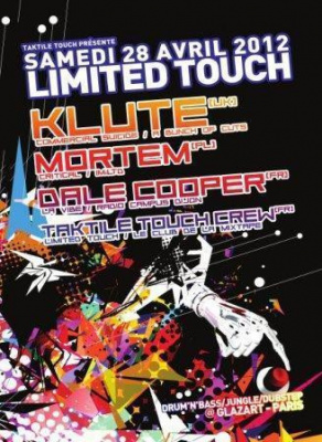 Limited Touch invite Klute, Mortem et Dale Cooper
