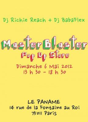 Master Blaster - Vente Créateurs + Dj's