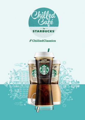 Starbucks Chilled Café, le café éphémère