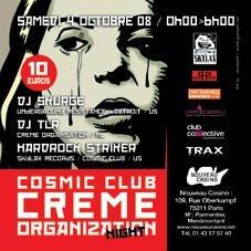 Soirée, Paris, Cosmic Club, Nouveau Casino, UR