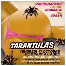 Soirée, Paris, Readioinactive, Ddmage, Nil, Tarantulas, Release Party