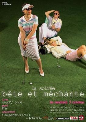 Soirée, Paris, Bete et méchante, Bellevilloise, Wendy Code, Ma Public Therapy