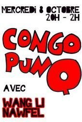 Concerts, Paris, Wang Li, Nawfel, CongopunQ, Bumcello, Cyril Atef