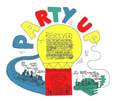 Soirée, Paris, Clubbing, Ed Bager, Revolver, Social Club