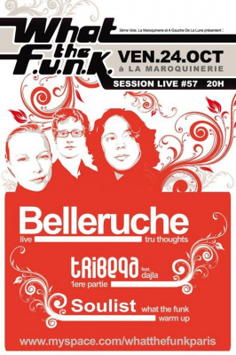 Concert, Paris, What the Funk, Belleruche, Tribeqa, Soulist