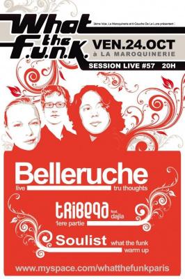 Concert, Paris, What the Funk, Belleruche, Tribeqa, Soulist