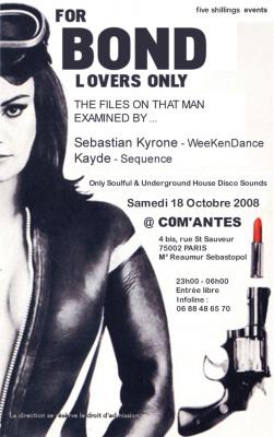 Soirée, Paris, Clubbing, Com'antes, Kyrone, Kayde