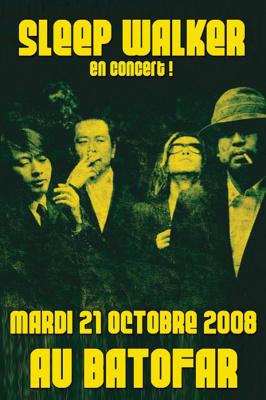 Concert, Paris, Batofar, Sleep Walker