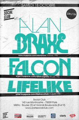 Soirée, Paris, Clubbing, Alan Braxe, Falcon, Lifelike, Social Club