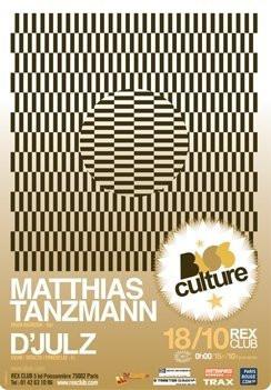 Soirée, Paris, Clubbing, Rex Club, Bassculture, Matthias Tanzmann, D'Julz
