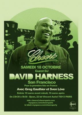 Soirée, Paris, Djoon, Cheers, David Harness, Greg Gauthier, Sven Love