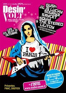 Concerts, Festival, Désin'volt, Gush, Bellevilloise, Centre Fleury Goutte d'or Barbara