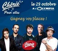 Concerts, Paris, Olympia, Femmes, Stanislas, Julien Clerc, James Blunt, Calogero, Daniel Powter
