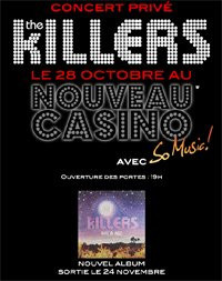 Concert, Paris, The Killers, Nouveau Casino, Day & Age